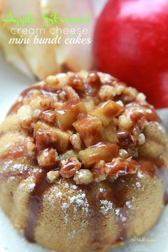Apple-Streusel-Cream-Cheese-Mini-Bundt-Cakes-@LifeMadeSweeter