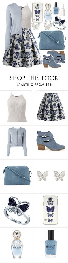 """Spring"" by deedee-pekarik ❤ liked on Polyvore featuring Chicwish, RED Valentino, Sole Society, The Row, Latelita, BillyTheTree, Casetify, Marc Jacobs, Lauren B. Beauty and Essie"