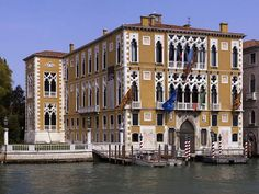 Palazzo Cavalli-Franchetti Grand Canal 1565,The first neo-Gothic improvements were made after 1840. Since 1999 іt has been the seat оf the Istituto Veneto di Scienze, Lettere e Arti