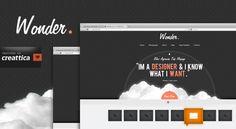 Wonder Web Design Free PSD Template