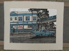 king's market full color proof (on drying rack) by Alexis Babayan, via Flickr