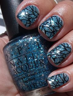 "i have NEVER seen any crackle nail polish that i like, but this is actually ""okay"""