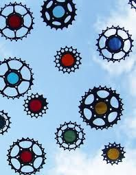 bikes parts upcycled - Google Search