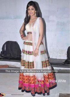 Shilpa Shetty Net Designer Lehenga Choli