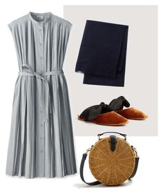 """""""The Shoes"""" by aneeqlondon on Polyvore featuring MANGO and Uniqlo"""