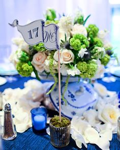 table number flag