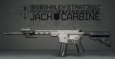 Here's The Jack. The AR from Haley Strategic and Bravo Company that can do it all. And with the awesome Geissele rail.