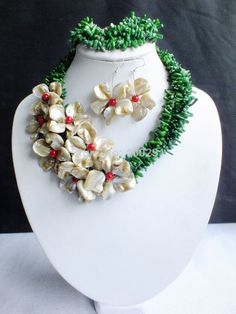 Free shippin !!! A-1369 Fashion african wedding bridal necklace and earrings coral jewelry set $58.36