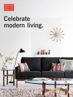 The Semiannual Sale is here! Save 15% on the world's largest collection of authentic modern furniture, lighting and accessories from floor to ceiling, for indoors and out. Sale Dates: March 3 - March 17, 2016. Shop now at dwr.com.