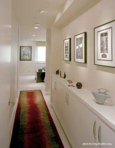 Narrow hallway storage ideas storage ideas for narrow hallways Hallway Storage Cabinet, Hallway Cupboards, Hallway Bench, Long Hallway, Hallway Furniture, Bedroom Storage, Hallway Ideas, Small Furniture, Furniture Decor