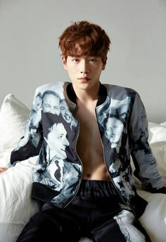 Seo​ Kang​ Joon - GEEK Magazine. *collapses on the floor