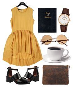 """""""Untitled"""" by hanaglatison ❤ liked on Polyvore featuring Jeffrey Campbell, Nanda Home, Comme des Garçons and Frédérique Constant"""