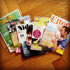Lesestoff für Eltern: Ein Überblick über deutsche Magazine für Mütter und Väter #Elternzeitschriften #Elternmagazine