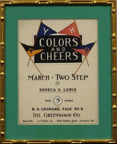 """Colors and Cheers"""