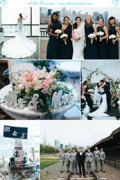 Stephanie-Michael Aqua Azul Yacht Wedding Wedding Mood Board, Wedding Blog, Our Wedding, Inspiration Boards, Wedding Inspiration, Yacht Wedding, Bridesmaid Getting Ready, Congratulations And Best Wishes, Real Couples