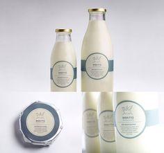 Nice packaging - Bara Goat Dairy by Kroll Design