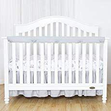 Baby Crib Rail Cover Diy No Sew Instructions With Pictures Crib Rail Cover Best Crib Cribs