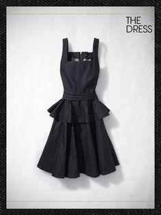DENIM DRESS  Marc by Marc Jacobs tailored denim dress, $398Marc by Marc Jacobs, NYC, 212.924.0026