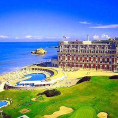 "Hotel du Palais in Biarritz, France   Imperial Spa Guerlain - A menu where you can discover ""L'Argan, le Prestige"" by ar457"