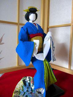 Geisha Paper Doll.