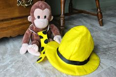 Raising Creative Hearts: Man in the Yellow Hat Costume Tutorial and Free Pattern