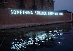 something strange happened here | venice bienalle