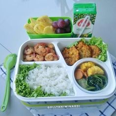 Gambar mungkin berisi: makanan Malay Food, Bento Ideas, Japanese Dishes, Insulated Lunch Bags, Lunch Box Recipes, Bento Box, I Foods, Cravings, Food Porn