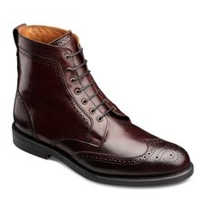 The boot to end all boots.   Cordovan Dalton - Wingtip Lace-up Dress Boots by Allen Edmonds