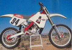 1989- KTM 125 MX prototype, designed by Horst Leitner.
