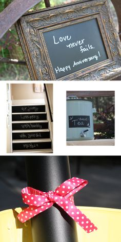 $4 sale on chalkboard vinyl for one sheet of 24''x12''! Use it instead of #chalkboard paint for #wedding signs.