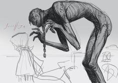 Curios and Wonders Savage, Creatures, Sketches, Art, Dibujo, Drawings, Craft Art, Sketch, Kunst