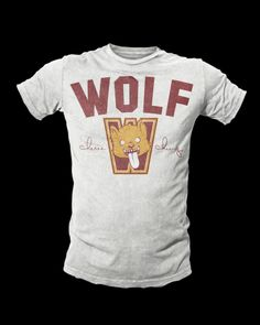 """Limited edition Cheree Chung X Addictive Kaos """"Wolf"""" training shirt....once sold out this colorway will not return"""