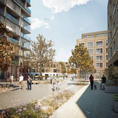 Agar Grove Estate Redevelopment Proposal - Hawkins/Brown Architects, England, Masterplan
