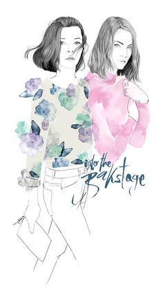 Fashion illustration III - 'realism' on Behance