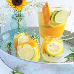 Summer Citrus White Sangria