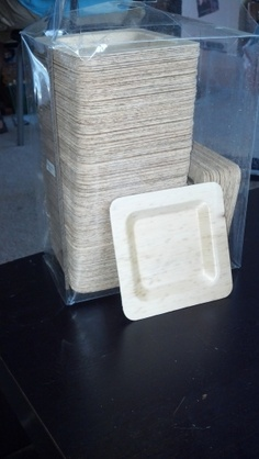 Ruffled® | See ads - 175 - 4 inch bamboo disposable plates - perfect for cupcakes!!! - Cake Table