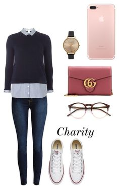 """Swaeter weater."" by cccharity on Polyvore featuring mode, Dorothy Perkins, Converse, Olivia Burton, Gucci en Wildfox"