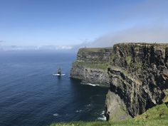 Fog moving away from O'Brien's Tower and the Cliffs of Moher in Co Claire Ireland [OC] landscape Nature Photos Landscaping Software, Landscaping Company, Earth Photos, Nature Photos, Parts Unknown, Moving Away, Cliffs Of Moher, Beautiful Places To Travel, Landscape Photographers