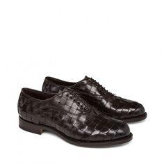 Stringata in pelle - Santoni Shoes - Spring Summer 2015