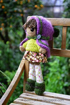 amigurumi crochet doll - bambola uncinetto 4 | Flickr: Intercambio de fotos