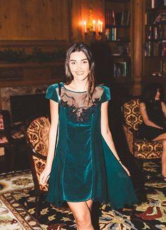 ee372d930ec5 Emerald Velvet   Black lace.