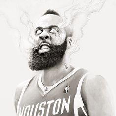James Harden drawing