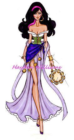 The Disney Divas collection by Hayden Williams: Esmeralda