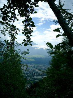 View over Innsbruck