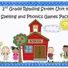 What a fun and engaging way to practice the spelling and phonics patterns from Reading Street Basal Series Unit 4! This pack includes 7 games that ...