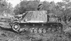 Sturmpanzer IV Brümmbar. Muy eficaz contra posiciones fortificadas y búnkeres.