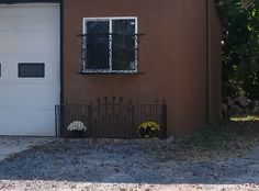 Gates, security doors, window guards, garden center