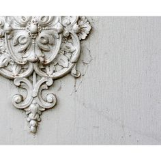 France Photography. White Provence Door Knocker. White Door. Wall Art. ($18) ❤ liked on Polyvore featuring home, home decor, wall art, white wall art, white home decor, photography wall art, door wall art and white home accessories