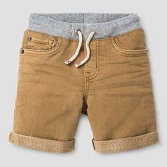 Infant Denim Short Khaki