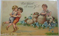 """""""Neujahr,Kinder, Münzen"""" 1909, Prägekarte ♥  (6371)"""